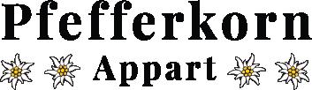 Landhaus Pfefferkorn Appart Montafon Logo